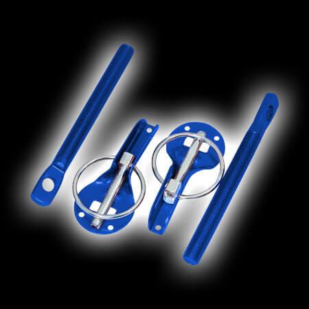 Замки на капот Pro.Sport синие 15.5102