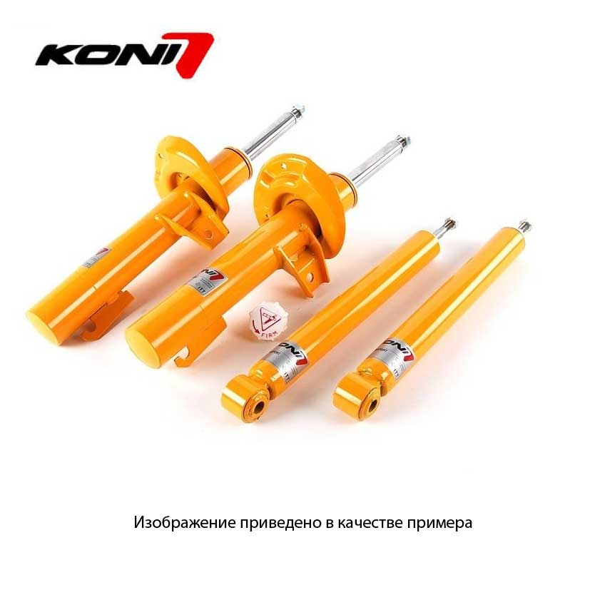 KONI Sport, 87411259Sport перед для VOLKSWAGEN GTI, Golf III, Jetta III VR6 excl. 4 cyl. Note for some 93-95 VR6 cars: front strut lowers vehicle 19mm. Use 8041-1108 Sport lower spring perch to lower rear equal amount, 93-98