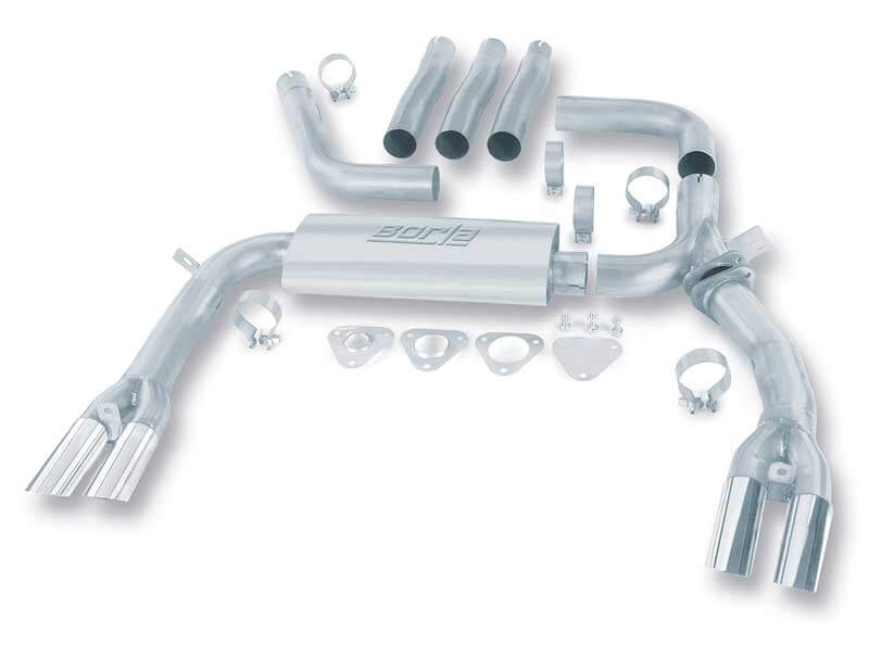 Cat-Back CHEVROLET CAMARO 5.0L/5.7L V8 AT/MT RWD 2DR (inc. adapters), 84-92