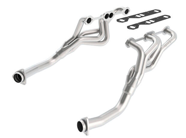 Header CHEVROLET BEL AIR 256/283/237/350 CID AT/MT RWD 2+4DR, 55-57