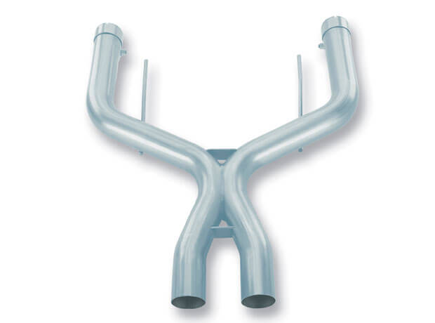 X-Pipe 2.5 (Note: FORD MUSTANG 4.6L V8 AT/MT, 05-10