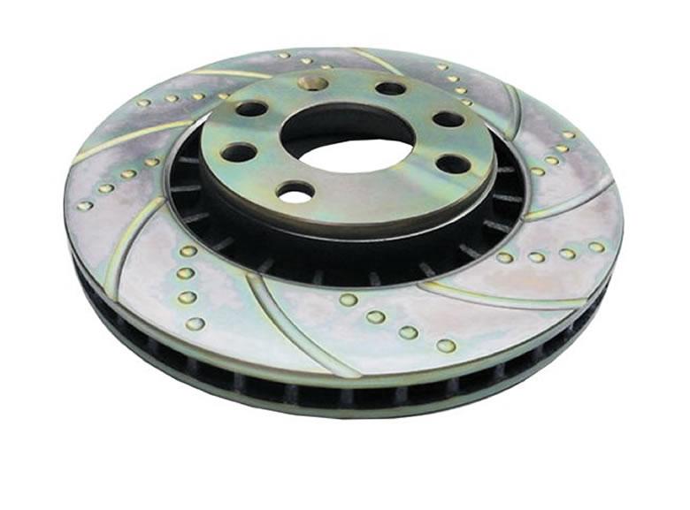 Комплект тормозных дисков EBC на Ford Fiesta ST, 2.0, 2004-