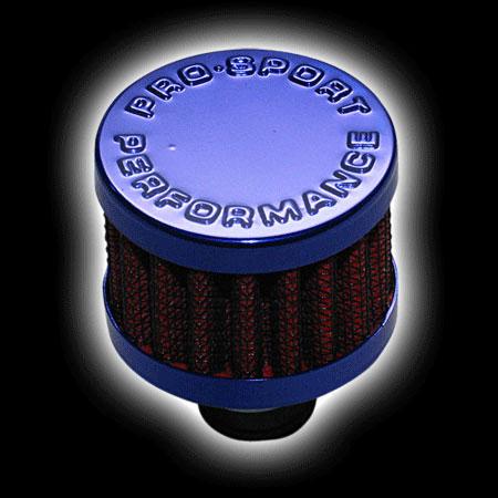 Фильтр вентиляции картерных газов, красный/синий (D=25)