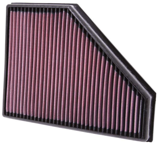 Фильтр воздушный K&N в штатное место<br>BMW 3-Series (E90/E91/E92/E93) 316d DSL 2009-