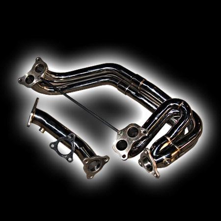 Приемная труба + down pipe Subaru Impreza WRX (нержавеющая сталь)