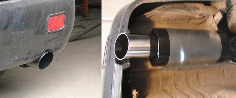 Глушитель для Mitsubishi Lancer 9 нержавейка