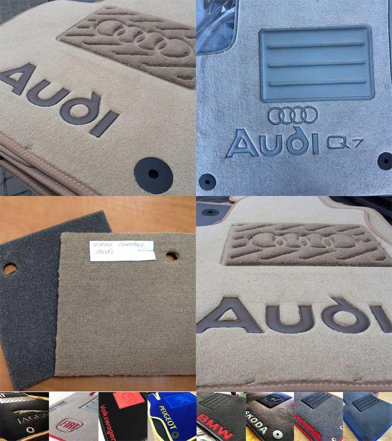 Ковры автомобильные текстильные для Ford Tourneo Connect 2002г> 5дв (передние)