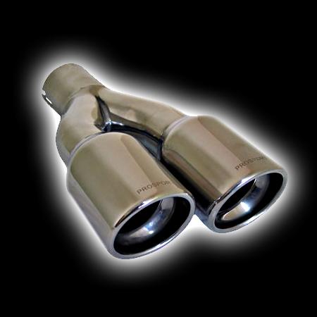 Насадка ProSport двойная T2 Dвх 58, Dвых 2х80mm BLT317
