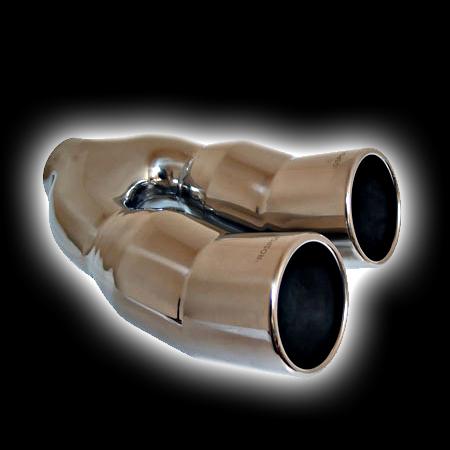 Насадка ProSport двойная DTM Dвх 58, Dвых 2х89mm BLT345-2