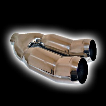 Насадка ProSport двойная DTM T3 Dвх 58, Dвых 2х89mm BLT347-2