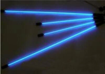 Комплект неоновой подсветки (4 трубки) синий