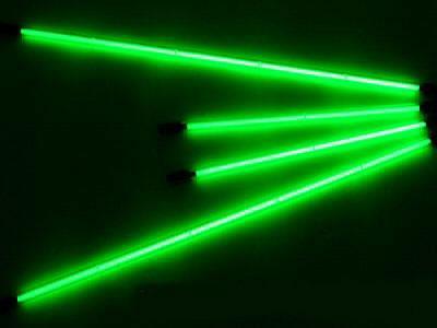 Комплект неоновой подсветки (4 трубки) зеленый