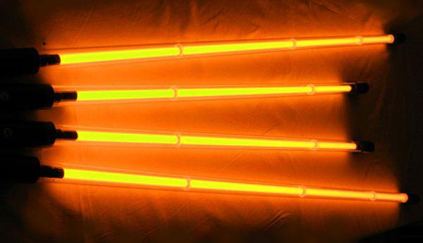 Комплект неоновой подсветки (4 трубки) оранжевый