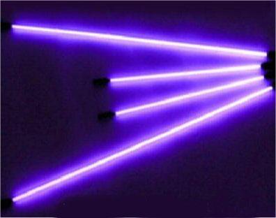 Комплект неоновой подсветки (4 трубки) фиолетовый