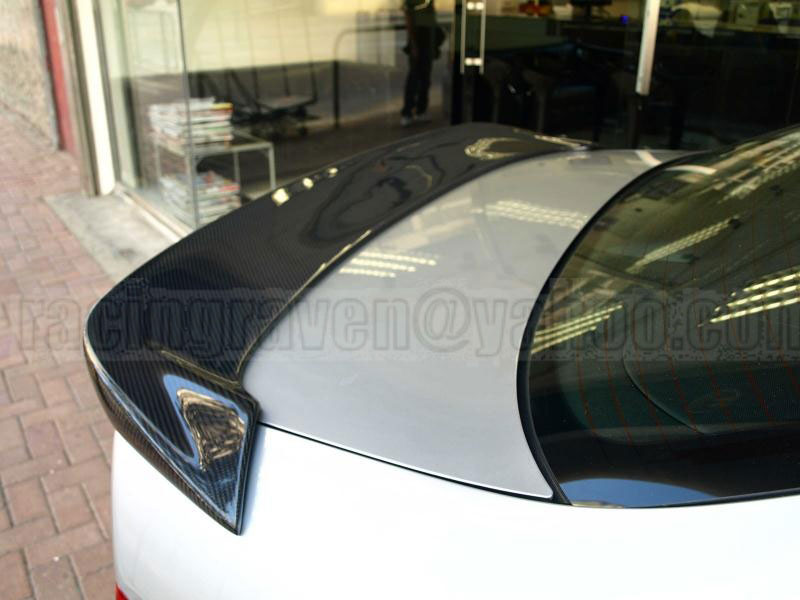 Спойлер на крышку багажника ACCORD CL7 CL9 REAR WING TRUNK SPOILER (карбон)