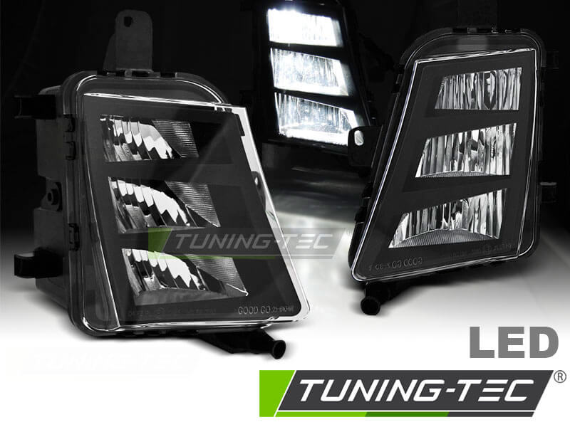 Противотуманки для VW GOLF 7 GTI LED (тюнинг оптика, цена за комплект)