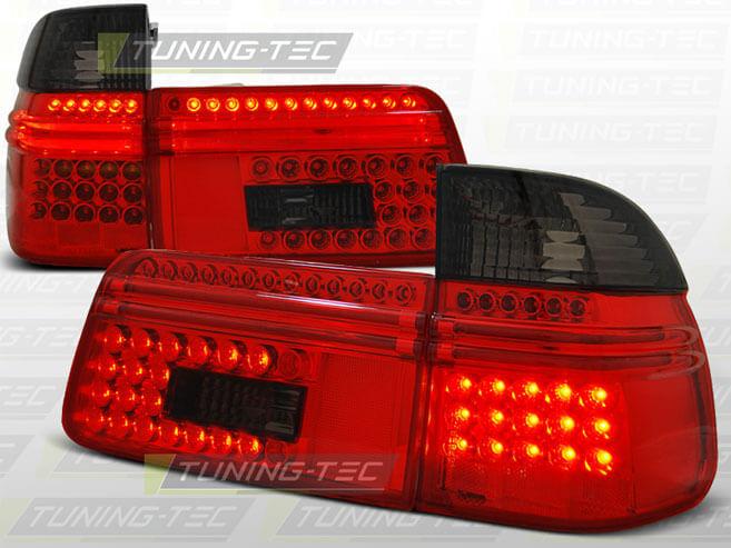Альтернативная оптика для BMW E39 97-08.00 TOURING RED SMOKE LED (тюнинг оптика, цена за комплект)