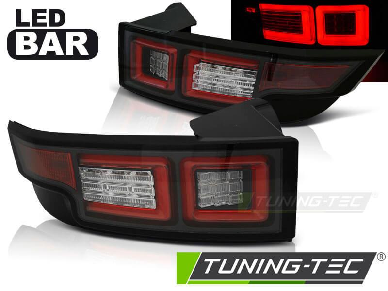 Альтернативная оптика для LAND ROVER RANGE ROVER EVOQUE 11- BLACK LED (тюнинг оптика, цена за комплект)