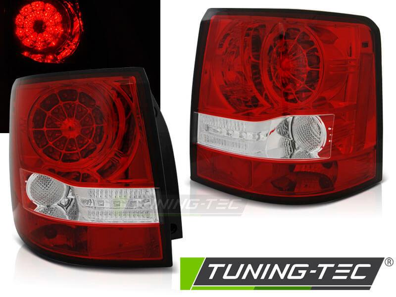 Альтернативная оптика для LAND ROVER RANGE ROVER SPORT 05-09 RED WHITE LED (тюнинг оптика, цена за комплект)