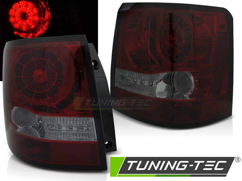 Альтернативная оптика для LAND ROVER RANGE ROVER SPORT 05-09 RED SMOKE LED (тюнинг оптика, цена за комплект)