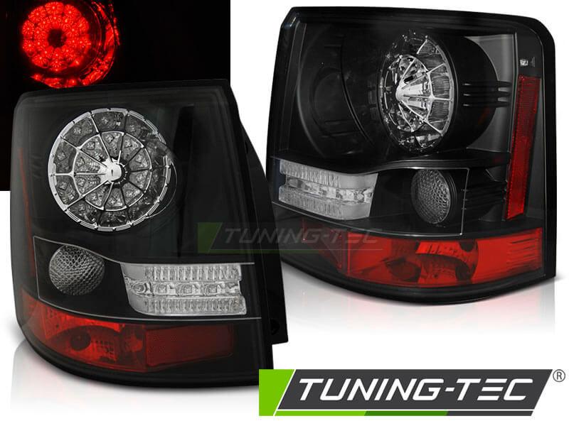 Альтернативная оптика для LAND ROVER RANGE ROVER SPORT 05-09 BLACK LED (тюнинг оптика, цена за комплект)