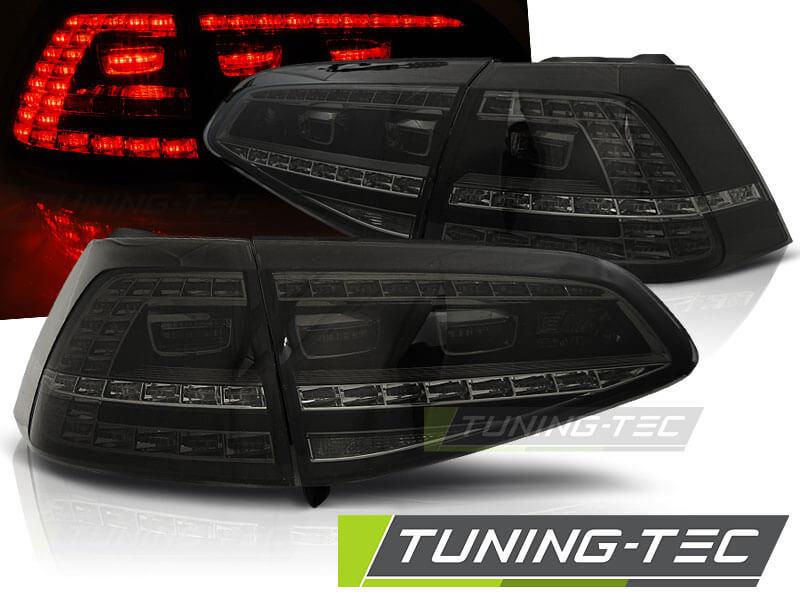 Альтернативная оптика для VW GOLF 7 13- SMOKE LED GTI LOOK (тюнинг оптика, цена за комплект)
