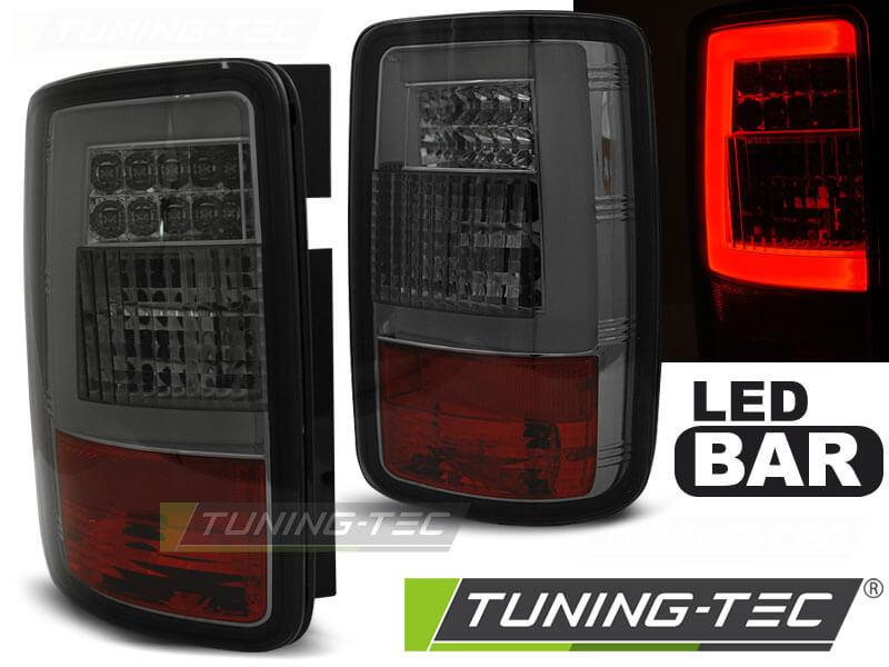 Альтернативная оптика для VW CADDY 03-03.14 SMOKE LED BAR (тюнинг оптика, цена за комплект)