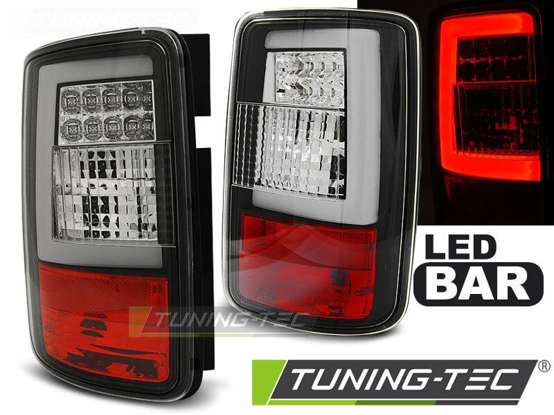 Альтернативная оптика для VW CADDY 03-03.14 BLACK LED BAR (тюнинг оптика, цена за комплект)