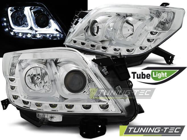 Альтернативная оптика для TOYOTA LAND CRUISER 150 09- TUBE LIGHT CHROME (тюнинг оптика, цена за комплект)