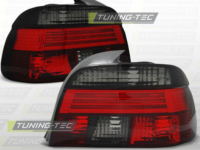 Альтернативная оптика для BMW E39 09.95-08.00 RED SMOKE (тюнинг оптика, цена за комплект)