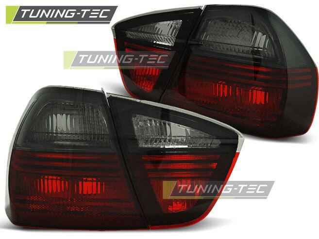 Альтернативная оптика для BMW E90 03.05-08.08 RED SMOKE (тюнинг оптика, цена за комплект)