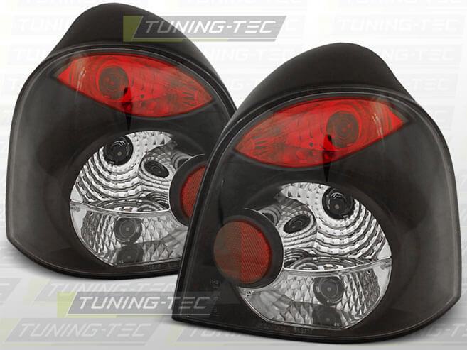 Альтернативная оптика для RENAULT TWINGO 03.93-07 BLACK (тюнинг оптика, цена за комплект)