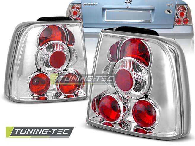 Альтернативная оптика для VW PASSAT B5 11.96-08.00 SEDAN CHROME (тюнинг оптика, цена за комплект)