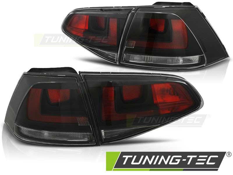 Альтернативная оптика для VW GOLF 7 07.12- SMOKE (тюнинг оптика, цена за комплект)