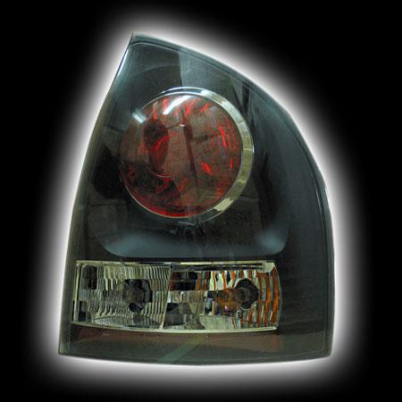 Фонари задние LADA KALINA тонированный/черный LA024-BOJD2  (тюнинг оптика, цена за комплект)
