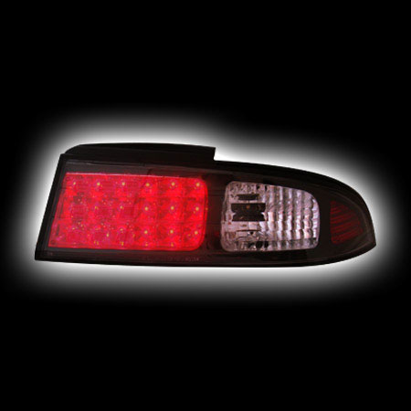 Альтернативная оптика для NISSAN S14 (SILVIA) `93-`98, T/L,фонари задние,светодиодные, черный NO (тюнинг оптика, цена за комплект)