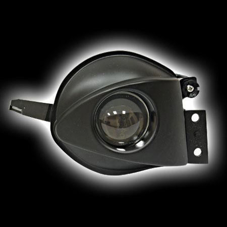 Фара противотуманная BMW E90 `05- черный BM09-9001-B (тюнинг оптика, цена за комплект)