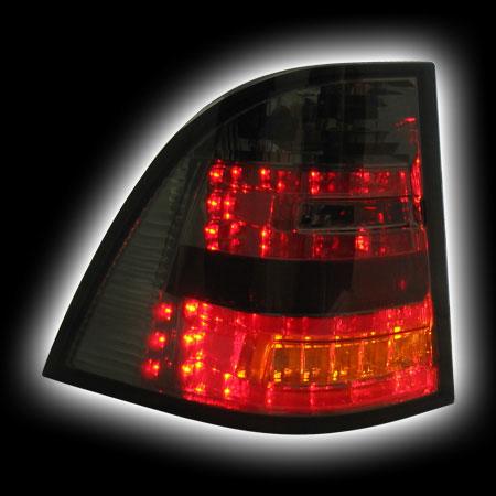Альтернативная оптика для MB ML `98-`05 M-Class, T/L, фонари задние,светодиодные, тонирован. (тюнинг оптика, цена за комплект)