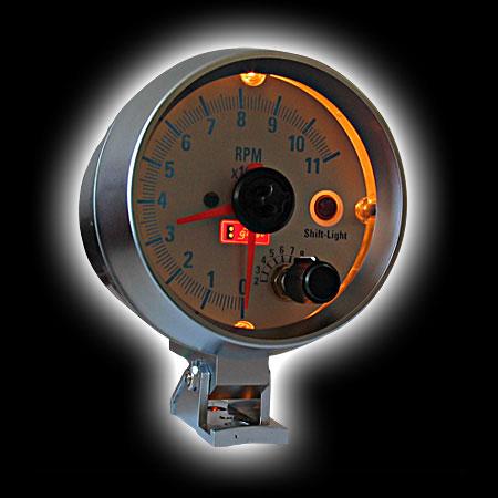 Тахометр (95мм), вспышка,  (0-11000RPM)