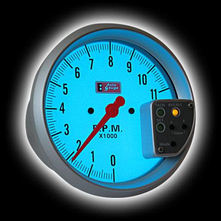 Тахометр (125мм), внешняя вспышка, память значений, люминисцентный (0-11000RPM)