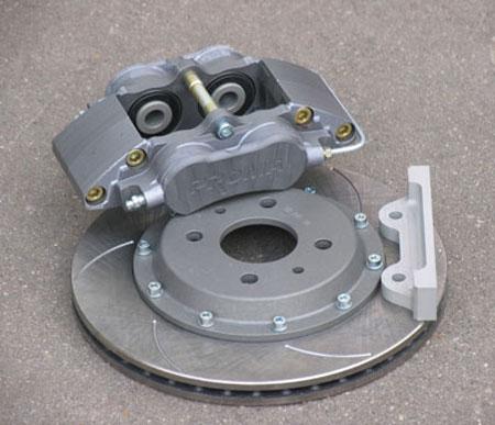 Комплект, диаметр тормозного диска 286 мм:
