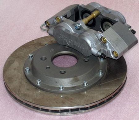 Комплект для переднеприводных а/м ВАЗ, диаметр тормозного диска 286 мм