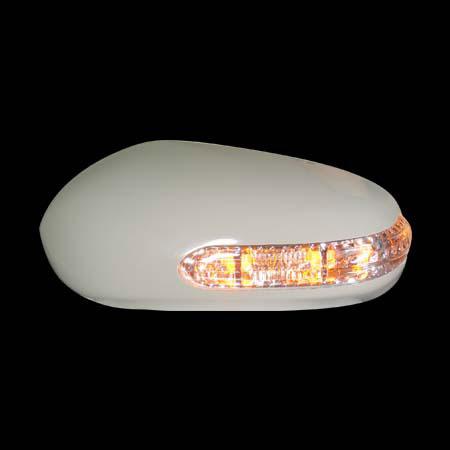 Накладки на зеркала NISSAN TEANA `04-`07 сo светодиодным повторителем