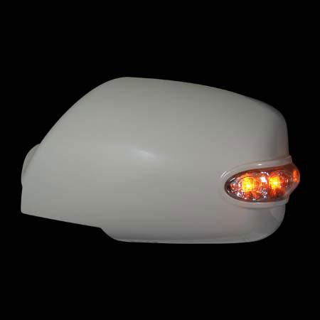 Накладки на зеркала KIA SPORTAGE `05- сo светодиодным повторителем