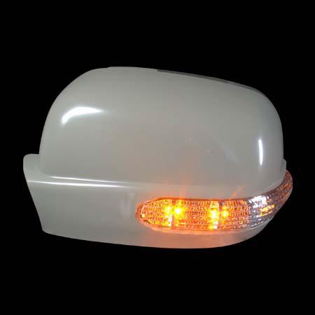 Накладки на зеркала HONDA CR-V  `02-`06 сo светодиодным повторителем