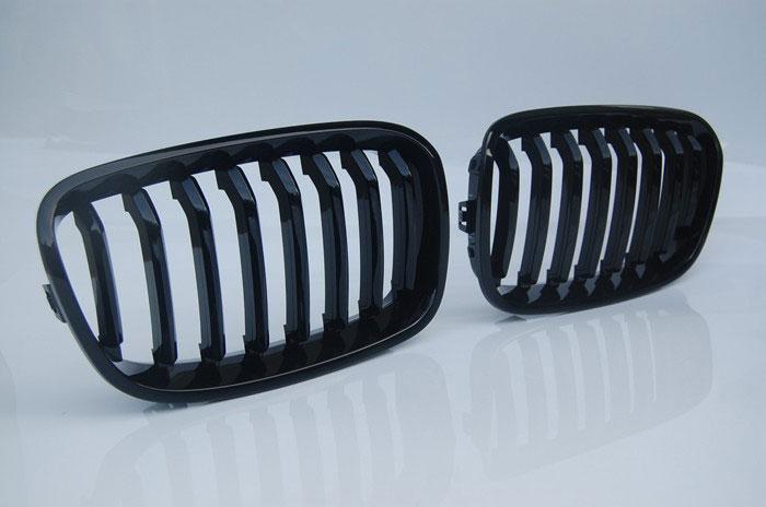 Решетка радиатора BMW F20/F21 Год выпуска: 2011-... Материал: ABS - пластик Цвет: черная полированая