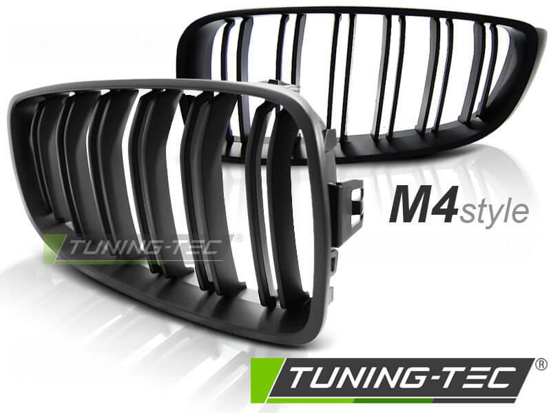 Решетка радиатора BMW F32 13- M4 LOOK MATT BLACK