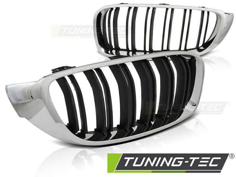Решетка радиатора BMW F32,F33,F36 13- M4 LOOK CHROME BLACK