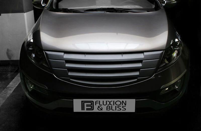 Декоративная решетка радиатора Kia Sportage '10-, под покраску