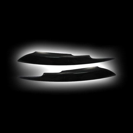 AUDI A4 `05- накладки фар ( реснички )